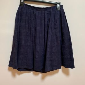 Anthropologie Skirts - 9-H15 STCL Anthropologie Navy Blue Skirt Sz S